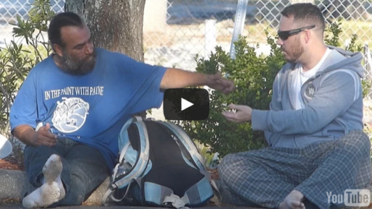(Video) This Guy Was Taking Money From Homeless People, Look At What He Did Next