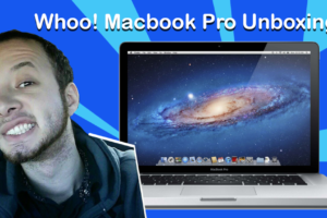 Unboxing A Macbook Pro 17 Inch