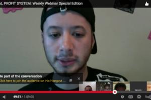 Virtual Profit System Weekly Webinar