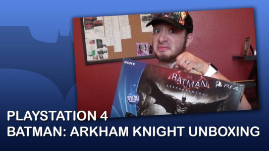 Batman Arkham Knight Playstation 4 500 GB UNBOXING!