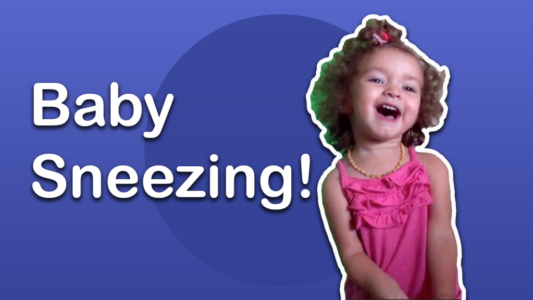 Baby Has A Sneeze Attack